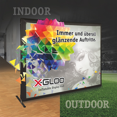 X-GLOO Display Wall. Das neue Produkt von X-GLOO.